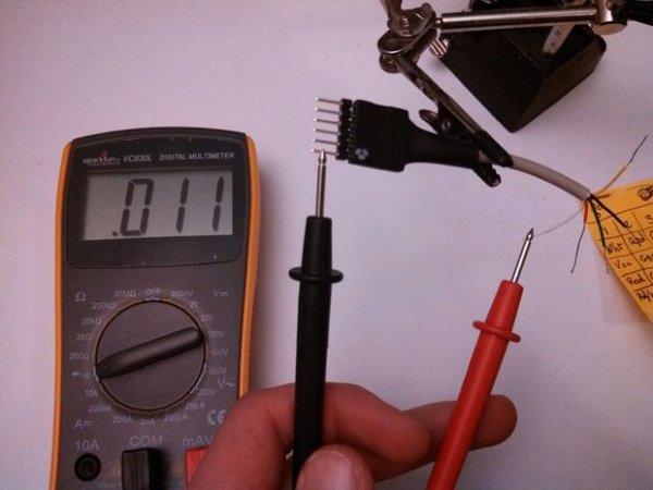 Check Wire Orientation