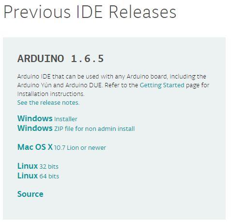 Install the Arduino IDE