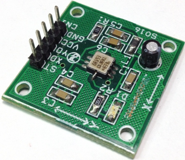 1.7g Dual-Axis IMEMS Accelerometer Using ADXL203