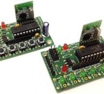 6 CHANNEL RF REMOTE CONTROLLER USING CC2500 RF MODULES