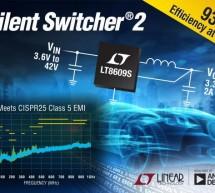 2-3A, 42-Vin Silent Switcher offers low-EMI regulation