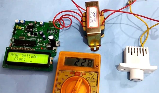 high-low-voltage-detector-using-PIC-microcontroller