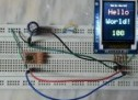 Interfacing PIC12F1822 with ST7735 SPI TFT display
