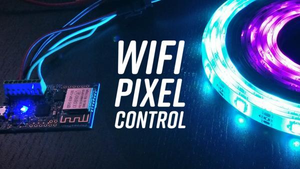 Chromatron - Wifi Pixel Controller