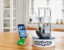 SCULPTO+ THE WORLD'S MOST USER-FRIENDLY DESKTOP 3D PRINTER