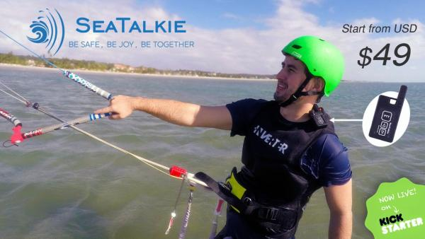 SeaTalkie keeps you SAFE and CONNECTED during water sports