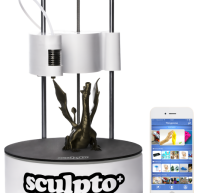 SCULPTO+, AN AFFORDABLE USER-FRIENDLY WIRELESS 3D PRINTER