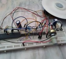 CD-ROM BLDC motor controller using PIC18F4550 and L293D