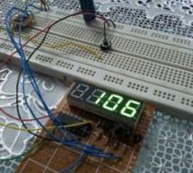 Interfacing 7-segment display with PIC12F1822 using CCS PIC C compiler