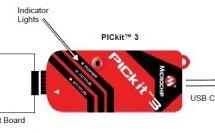 pickit 3 pinout – connection diagram