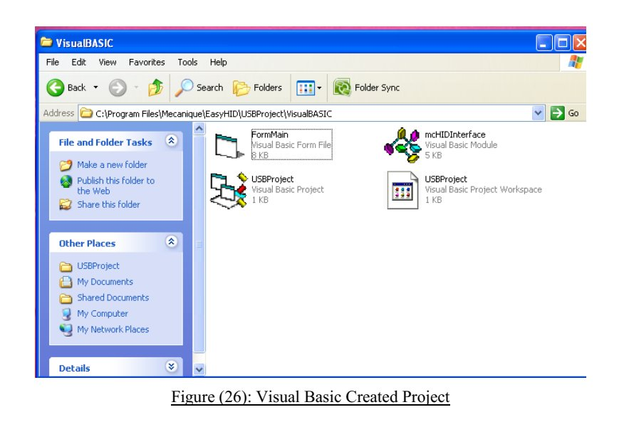 Visual Basic for more expansion and modification to satisfy the project requirements.