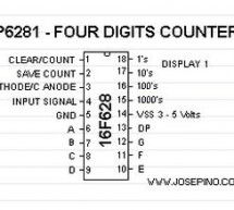 An Easy to build & multifunctional counter with 7-Segment Led Display using PIC16F628 microcontroller