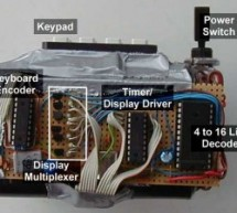 Countdown Timer using PIC16F84 microcontroller