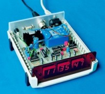 A DCF77 Clock with RS232 Interface using PIC16F84