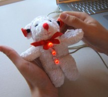 Frankenbear Synthamajig using PIC16F877 microcontroller