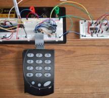 I2C keypad using PIC18F4550 microcontroller