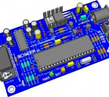 Building the Inchworm ICD2 PIC Programmer / Debugger using PIC16F877
