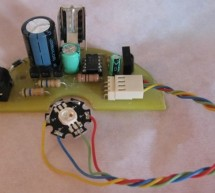 Power Pic RGB with Infrared remote control using PIC12F675