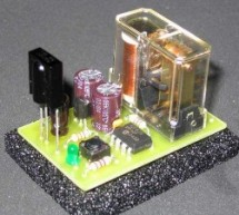 Ir On-Off using PIC12F629 microcontroller