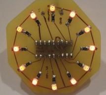 Medallion: Circle LED Animation PIC16F628A