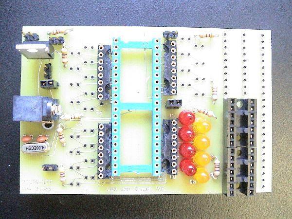 PIC testing board