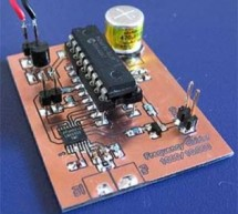 Poor man's counter using PIC16F84 microcontroller