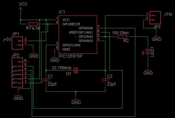 Schematic Clock Generator