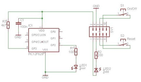 Schematic Front Panel