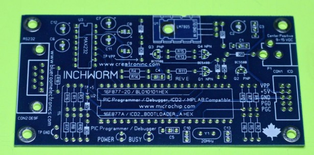 Schematic ICD2 PIC Programmer