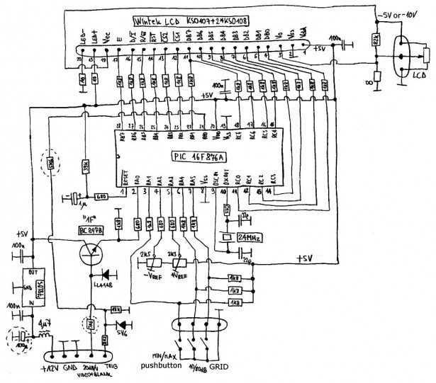 Schematic Spectrum Analyzers