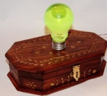 Spooky Led Lamp using PIC12F675 microcontroller