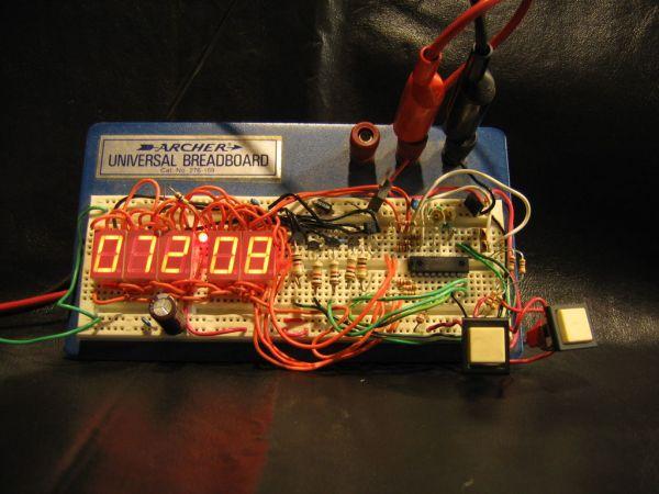 digital Electronic clock