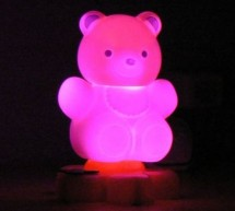 Teddy nightlight multicolor using PIC16F84A microcontroller