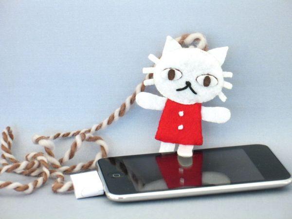 sewable iPod remote