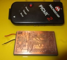 PURPIC, the wearable PICkit2 clone using PIC12F508 programmer
