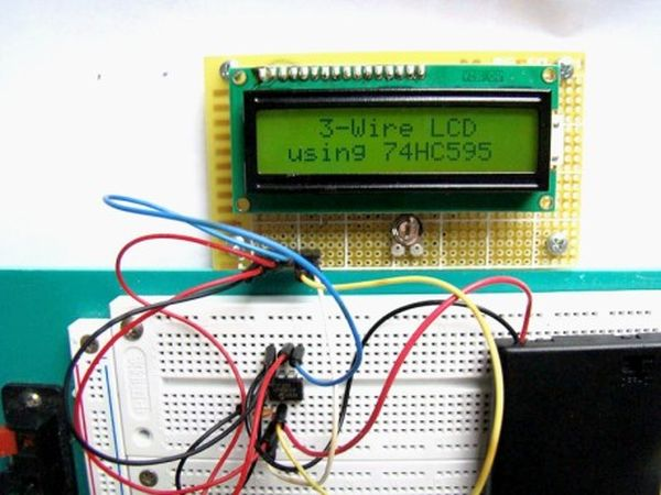 3 Wire LCD