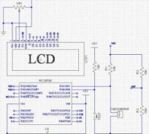Determine capacitance by measuring the charging time using PIC16F688