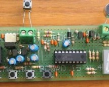 Dialing Alarm using PIC16F628 Microcontroller