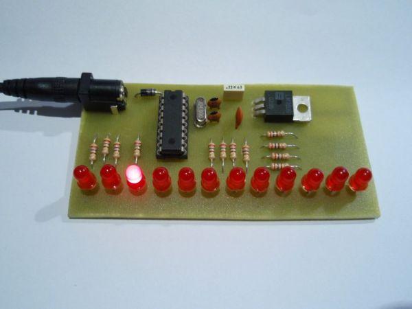 LED Chaser program