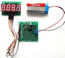 PIC12F microcontroller project board