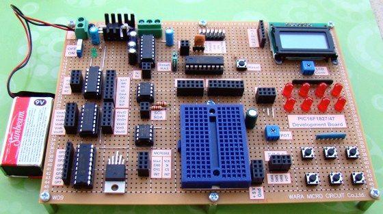 PIC16F1827 Board