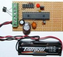 Low power temperature data logger using PIC18F27J53