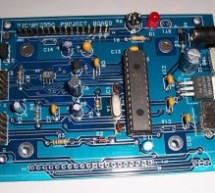 Project Board using PIC18F2550 microcontroller