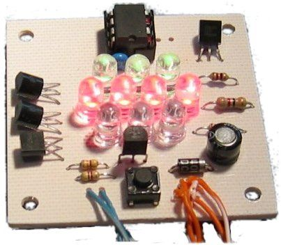 Serial Controlled RGB LED PWM Driver