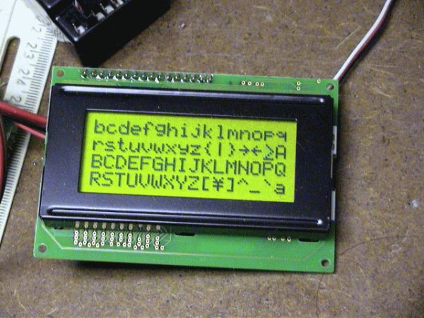 Serial LCD project