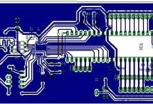 Microchip PIC16F877 to FTDI USB interface
