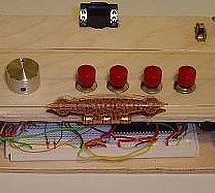 The VGA Test Box using pic18f452 Microcontroller