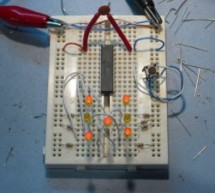 Electronic Die using PIC16F84 microcontroller