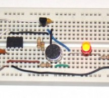 Making a simple clap switch using PIC12F683