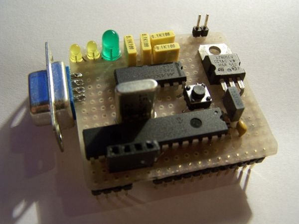 dsPIC breadboard